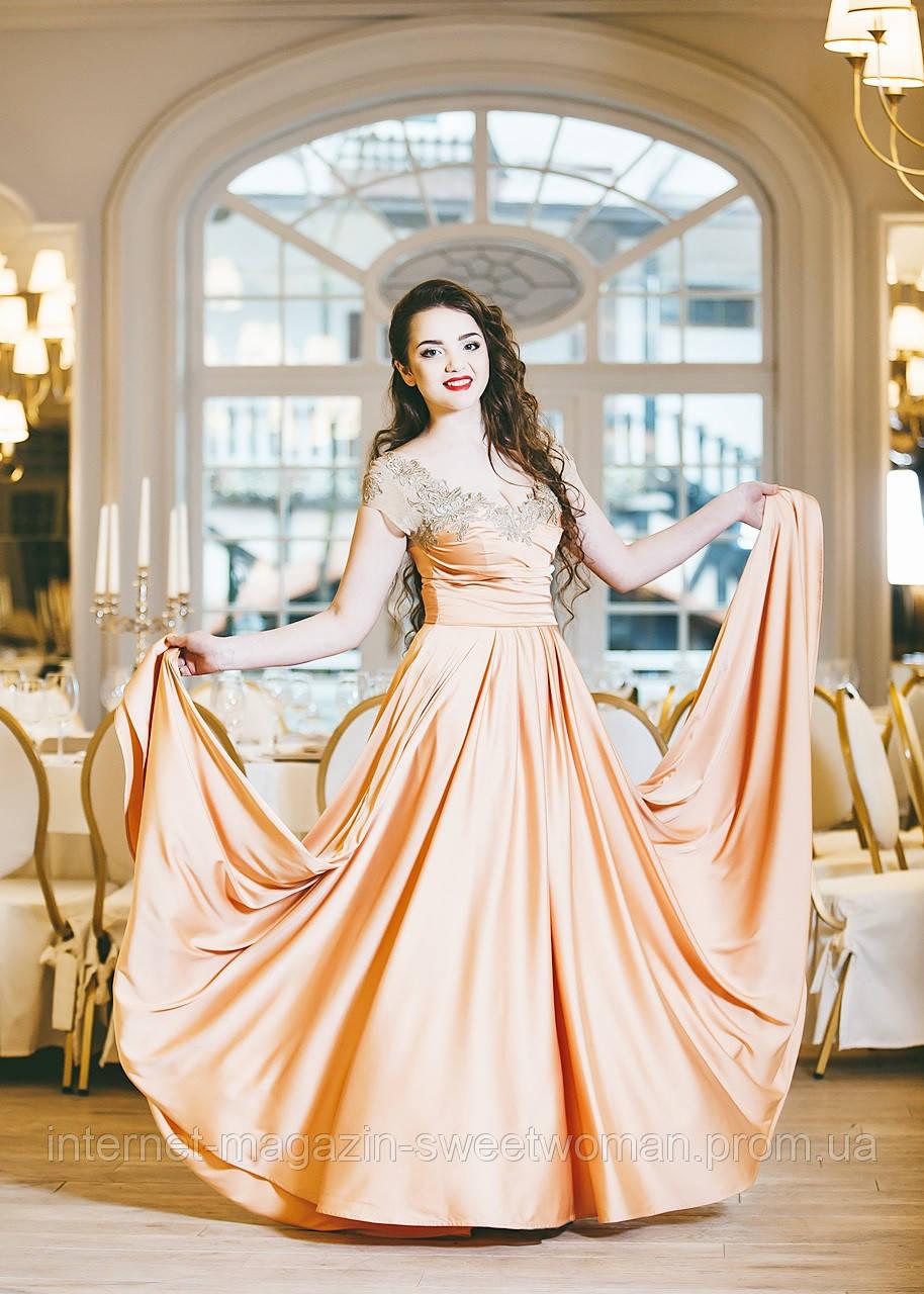 Кремова сукня VH