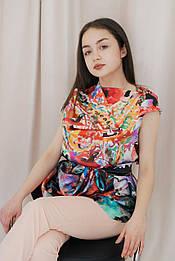 Блуза кольорова VH