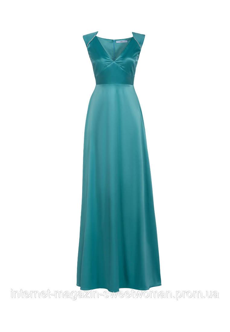 Вечірня сукня VH бірюзова
