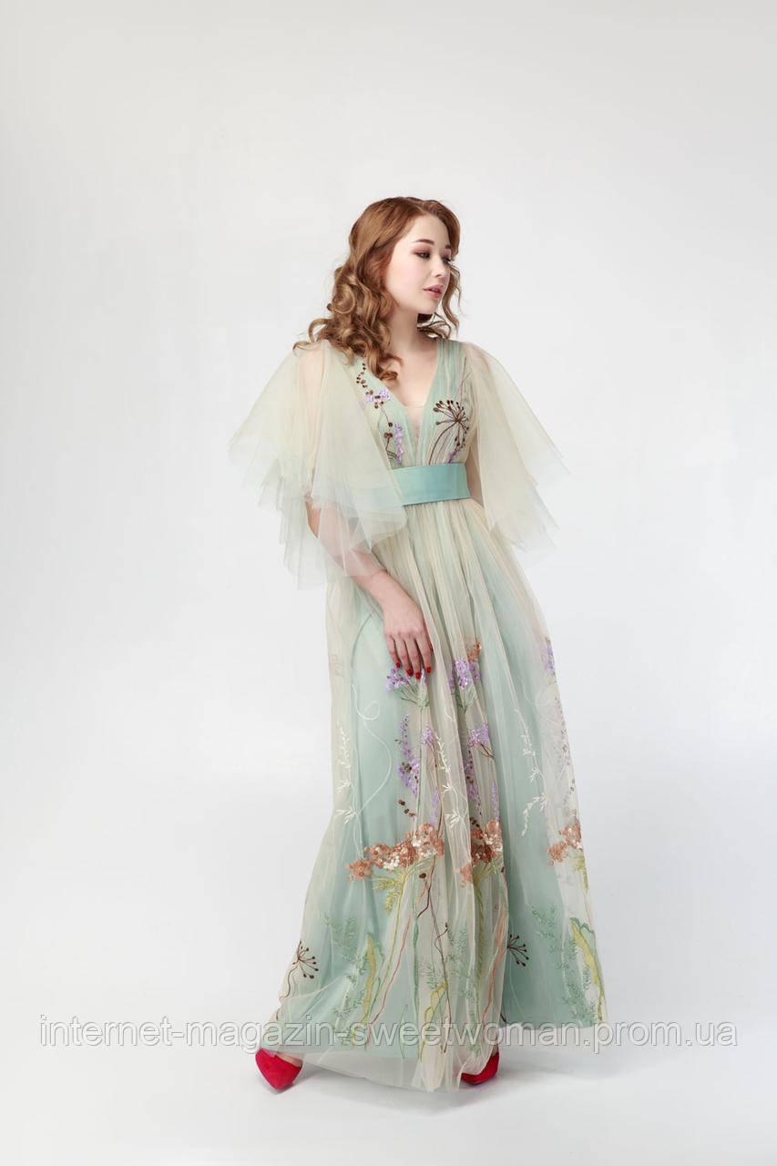 Сукня оливка VH