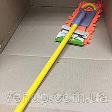 Швабра с телескопической металлической ручкой Умняшка