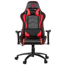 Игровое кресло 2E GC25 Черный/ Красный, фото 2