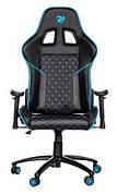 Игровое кресло 2E GC23 Черный/ Синий