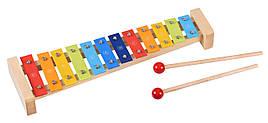 Музыкальный инструмент Goki Ксилофон радуга (61907G)