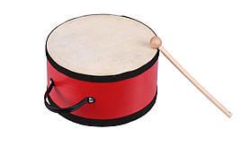 Музыкальный инструмент Goki Барабан с деревянной ручкой (UC018G)