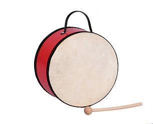 Музичний інструмент Goki Барабан з дерев'яною ручкою (UC018G), фото 2