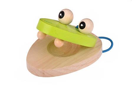 Музыкальный инструмент Goki кастаньеты Крокодил (61906G-2), фото 2