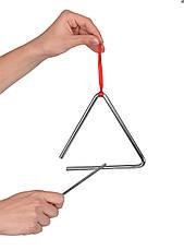 Музыкальный инструмент Goki Треугольник большой (61981G), фото 3