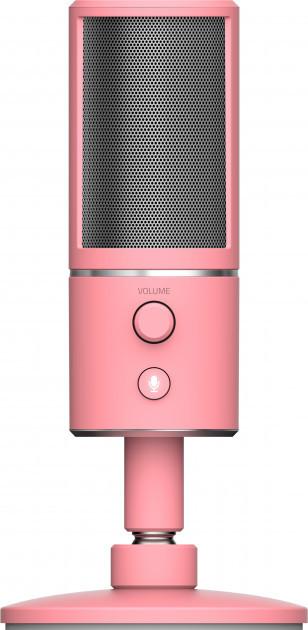 Мікрофон Razer Seiren X Quartz Рожевий (RZ19-02290300-R3M1)