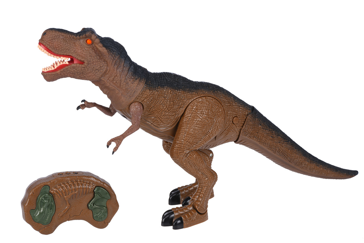 Динозавр Same Toy Dinosaur World Тиранозавр Коричневий (RS6123Ut)