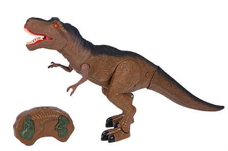 Динозавр Same Toy Dinosaur World Тиранозавр Коричневий (RS6123Ut), фото 2