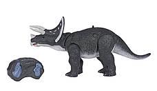 Динозавр Same Toy Dinosaur Planet Трицератопс Сірий (RS6137BUt), фото 2