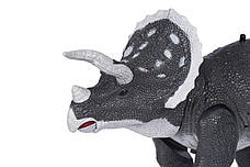 Динозавр Same Toy Dinosaur Planet Трицератопс Сірий (RS6137BUt), фото 3