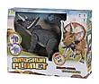 Динозавр Same Toy Dinosaur Planet Трицератопс Сірий (RS6137BUt), фото 5