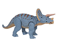 Динозавр Same Toy Dinosaur Planet Тріцератопс Блакитний (RS6167AUt), фото 2