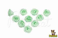Цветы Розы Тиффани из фоамирана (латекса) 3 см 10 шт/уп