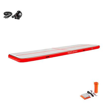 Мат гимнастический надувной 4FIZJO Air Track Mat 600 x 100 x 20 см 4FJ0175, фото 2