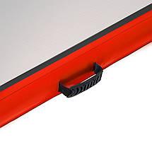 Мат гимнастический надувной 4FIZJO Air Track Mat 600 x 100 x 20 см 4FJ0175, фото 3