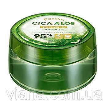 Увлажняющий успокаивающий гель с алоэ вера и центеллой MISSHA Premium Aloe Soothing Gel 300 мл