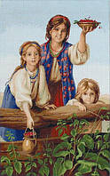 """Набор для вышивания крестом """"Luca-s"""" B489 """"Купите ягод"""" Платонов Харитон"""