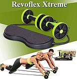 Фитнес колесо Revoflex Xtreme, Универсальный тренажер для пресса и всего тела, рук, ягодиц, Силовой тренажер/, фото 2