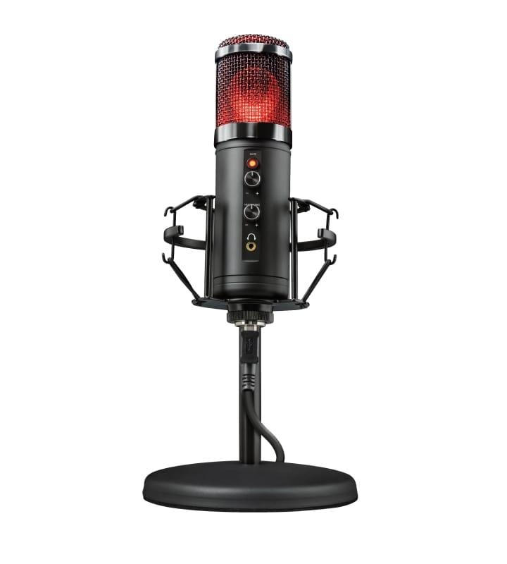 Мікрофон TRUST GXT 256 Exxo USB Streaming Microphone Чорний (23510_TRUST)