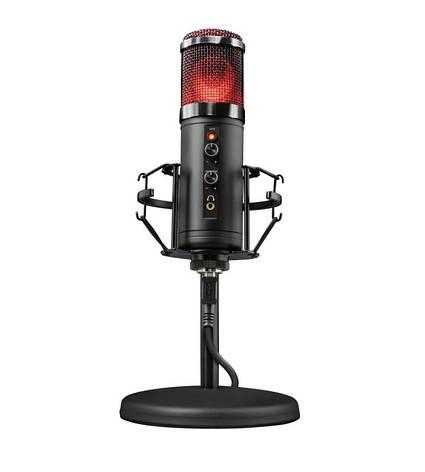 Мікрофон TRUST GXT 256 Exxo USB Streaming Microphone Чорний (23510_TRUST), фото 2