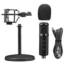 Мікрофон TRUST GXT 256 Exxo USB Streaming Microphone Чорний (23510_TRUST), фото 3