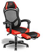Игровое кресло Trust GXT706 Rona с подставкой для ног Черный