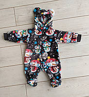Комбинезон для малышей Снеговичок