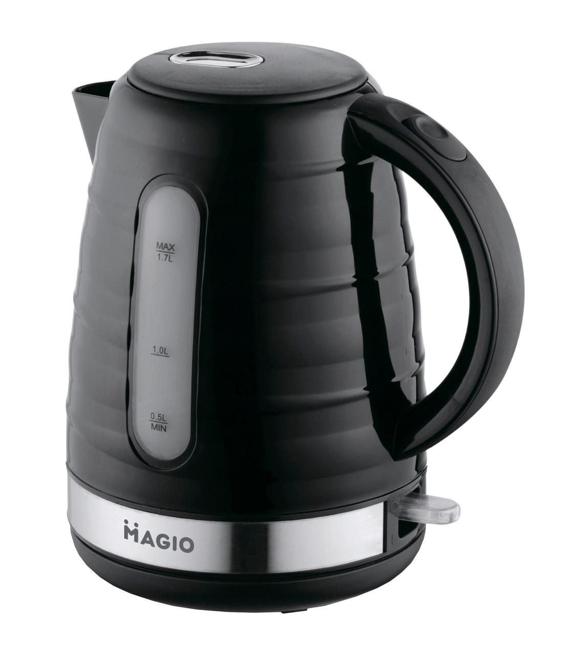 Електрочайник Magio MG-101 1.7 л Чорний