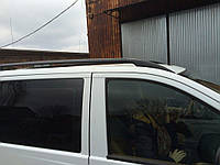 Mercedes Vito 639 Черные рейлинги со стальным креплением короткая база Мерседес Бенц Вито W639, фото 1