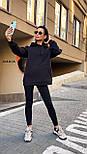 Женское утепленное худи удлиненное с карманом 5504860, фото 5