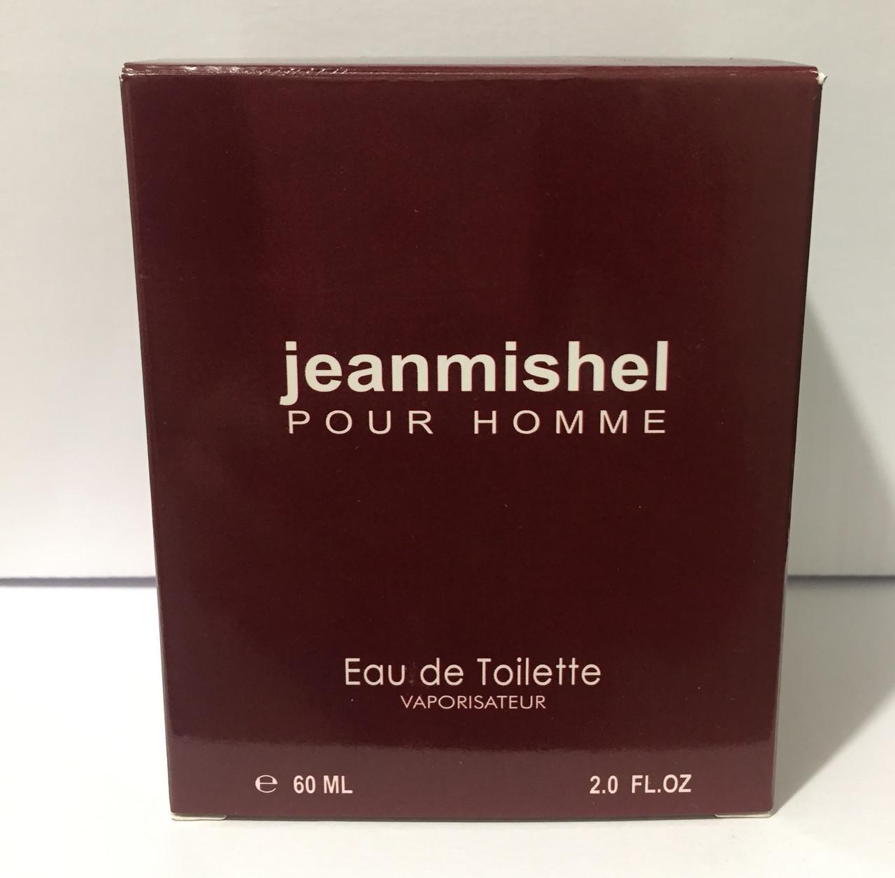 Тестер в подарочной упаковке jeanmishel pour homme 60 мл