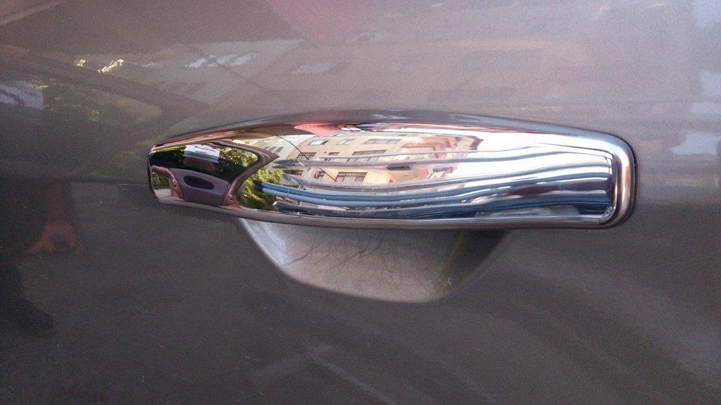 RENAULT CLIO III SYMBOL Накладки на дверные ручки OmsaLine Рено Клио Символ