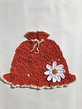 Летняя шапочка - панамка. Ручная работа.От 2. до 5 лет.