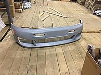 Накладка на передний бампер Озель V2 (под покраску) Mercedes Vito W638 1996-2003 гг. Мерседес Бенц Вито W638