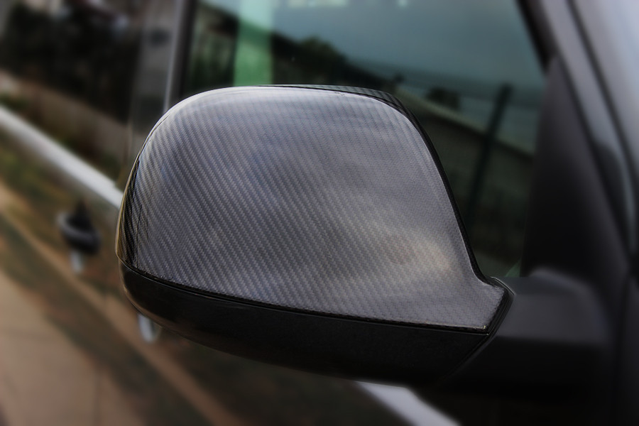 Volkswagen T6 карбоновые зеркала (натуральные) Фольксваген T6