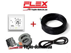 Кабель для теплого пола FLEX EHM в комплекте с WI-FI thermostat TWE02
