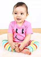 Детская одежда для новорожденных летний розовый