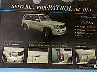 Хром пакет (2006-2011, комплект) Nissan Patrol Y61 1997-2011 гг. Ниссан Патрол