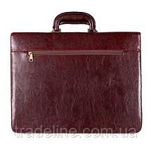 Мужской портфель Dovhani 303152344 Коричневый, фото 3