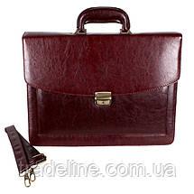 Мужской портфель Dovhani 303152344 Коричневый, фото 2