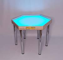 Шестикутний стіл для малювання піском Art&Play® ясен, фото 2