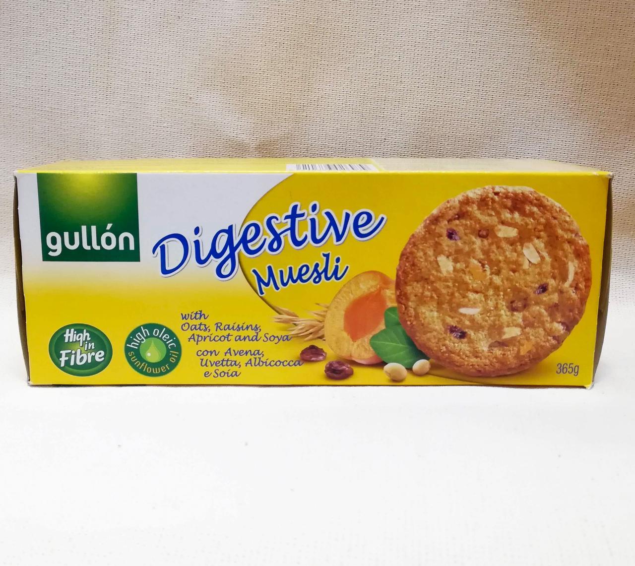 Овсяное печенье Gullon digestive Muesli