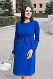 Платье для беременных и кормящих ILONGA DR-30.031 синее, фото 2
