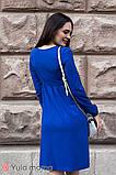 Платье для беременных и кормящих ILONGA DR-30.031 синее, фото 4