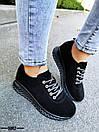 Женские белые кроссовки из натуральной кожи OB5060, фото 4