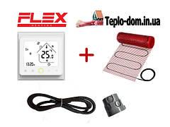 Мат для обогрева пола FLEX EHM c WI-FI thermostat TWE02 в подарок