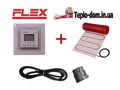 Тонкий нагревательный мат FLEX EHM (ЛАТВИЯ) + Vega LTC 070